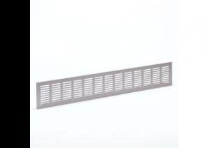 Binnenrooster - ventilatierooster - 500x130mm - Alu