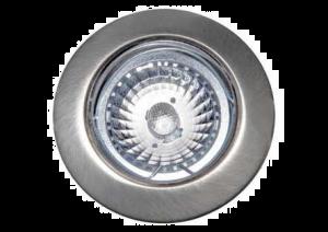 LED INBOUWSPOT RVS-LOOK REFLEX LED5 5W/230V 3000K 38⌀380LM