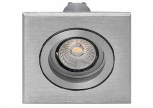 LED INBOUWSPOT TRONIX LED ALU 5W/230V 3000K 38⌀395LM