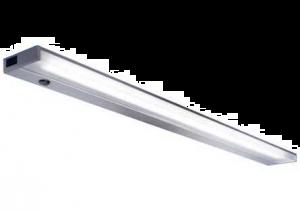 LED-VERLICHTING H.25MM + PLEXI KAP 747MM/11W/240V RVS