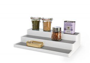 Madesmart - keukenkast organizer - 3 treden - Wit