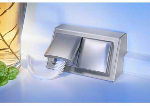 Hettich - Deltabox - opbouw 2 stopcontacten - RVS - NL-D