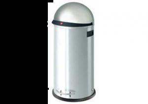 Hailo - Kickvisier XL - afvalemmer - 36 Liter - RVS