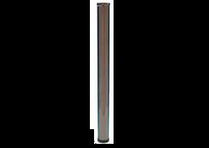 POOT COMO GLAS D.60MM H.870MM INOXLOOK