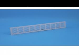 Binnenrooster - ventilatierooster - 1000x100mm - Alu