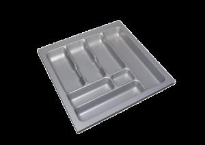 Storex Bestekbak 49 cm breed x 49 cm diep - Grijs