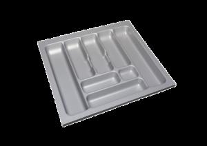 Storex Bestekbak 54 cm breed x 49 cm diep - Grijs