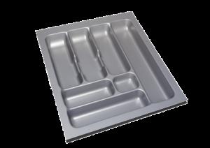 Storex Bestekbak 44 cm breed x 49 cm diep - Grijs