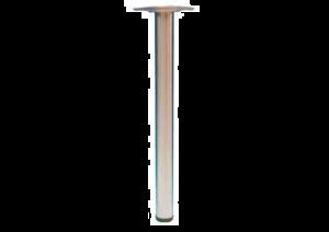 TAFELPOOT COMO H.87CM RVS