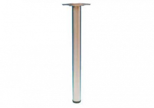 TAFELPOOT ( SET VAN 4 ) COMO H.71CM RVS