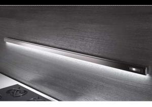Lemi - Relingsysteem Wing  - Relingstang 900 mm - Aluminium - Inc. 4 haken en LED