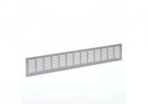 Binnenrooster - ventilatierooster - 500x80mm - Alu