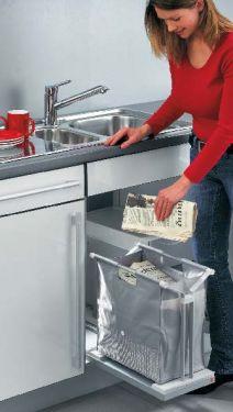 Hailo - Carry Organiser Zak- Aluminium