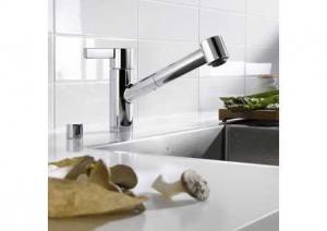 Dornbracht - Eno - keukenkraan - Platina Mat - Uittrekbare Vaatdouche
