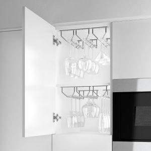 Hangend Glazenhouder - 342 mm - Chroom
