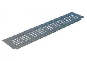 Binnenrooster - ventilatierooster - 400x100mm - Alu