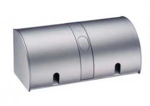 Hettich - Flapbox - opbouw 2 stopcontacten - RVS - NL-D