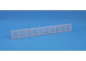 Binnenrooster - ventilatierooster - 1000x80mm - Alu