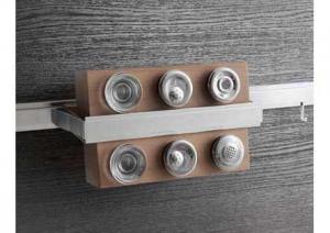 Lemi - Relingsysteem Wing - Kruidenrek - RVS/Hout