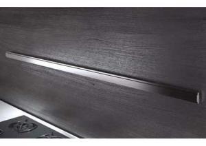 Lemi - Relingsysteem Wing  - Relingstang 600 mm - Aluminium - Inc. 4 haken