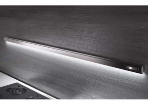 Lemi - Relingsysteem Wing  - Relingstang 1200 mm - Aluminium - Inc. 4 haken en LED